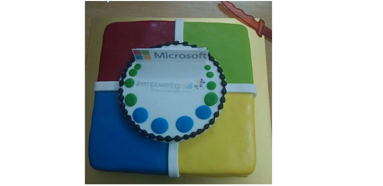 Gifted by Microsoft